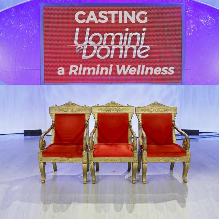 Casting di Uomini e Donne al Rimini Wellness