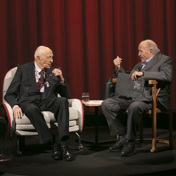 Giorgio Napolitano a L'intervista di Maurizio Costanzo