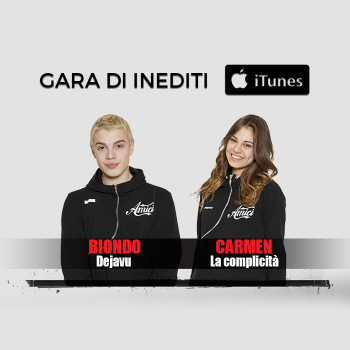 La gara degli inediti di #Amici17 su iTunes
