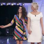 Giulia Michelini e Gerard Butler a C'è Posta Per Te