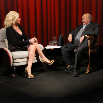 Antonella Clerici a L'Intervista di Maurizio Costanzo