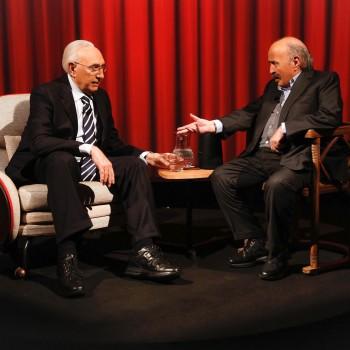 Pippo Baudo a L'Intervista di Maurizio Costanzo