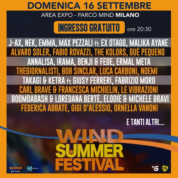 La FINALE del Wind Summer Festival!