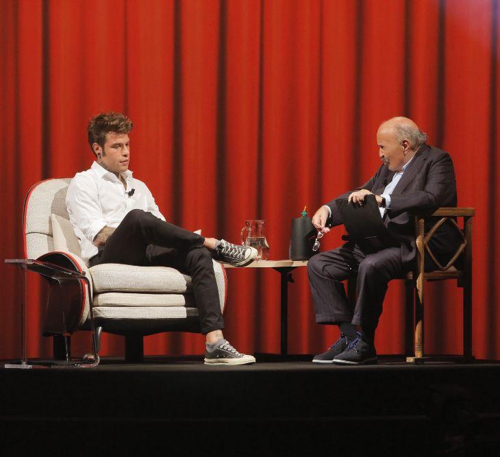 Fedez a L'Intervista di Maurizio Costanzo
