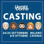Nuove date per i casting di Uomini e Donne a Milano e Catania!