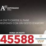 Sosteniamo la campagna solidale di Antoniano Onlus con una donazione al 45588