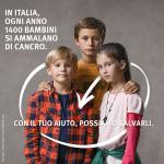 Fondazione Umberto Veronesi a sostegno della lotta contro i tumori infantili
