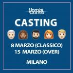I casting del Trono Classico e Over di Uomini e Donne a Milano!