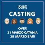 I casting del Trono Over a Catania e Bari!