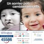 Sosteniamo la Fondazione Operation Smile Italia Onlus con un sms al 45586