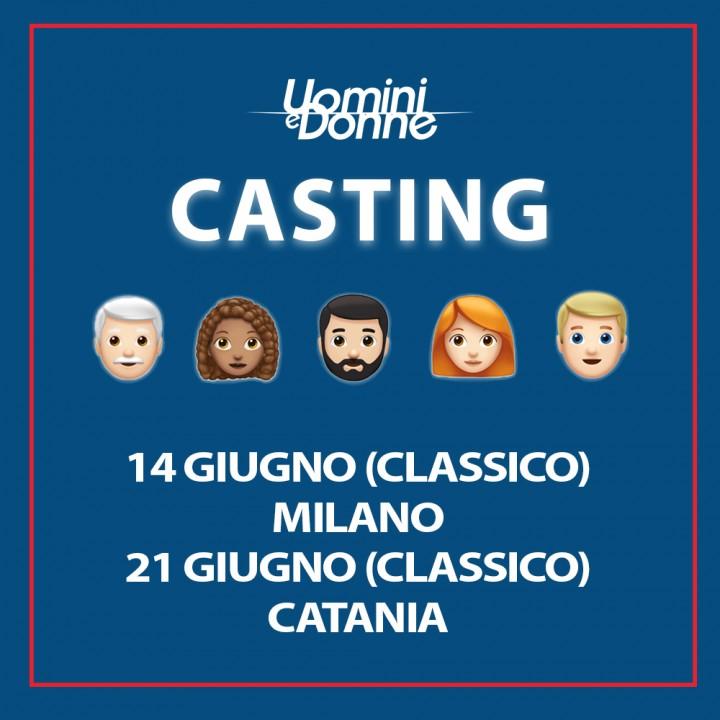 I casting del Trono Classico a Milano e Catania!