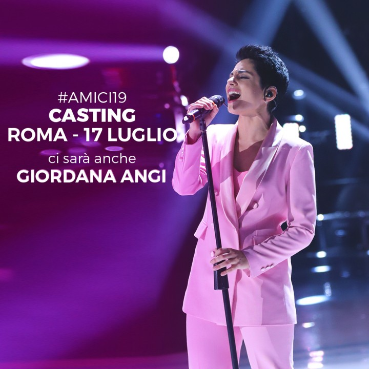 Clicca e iscriviti ai casting di #Amici19