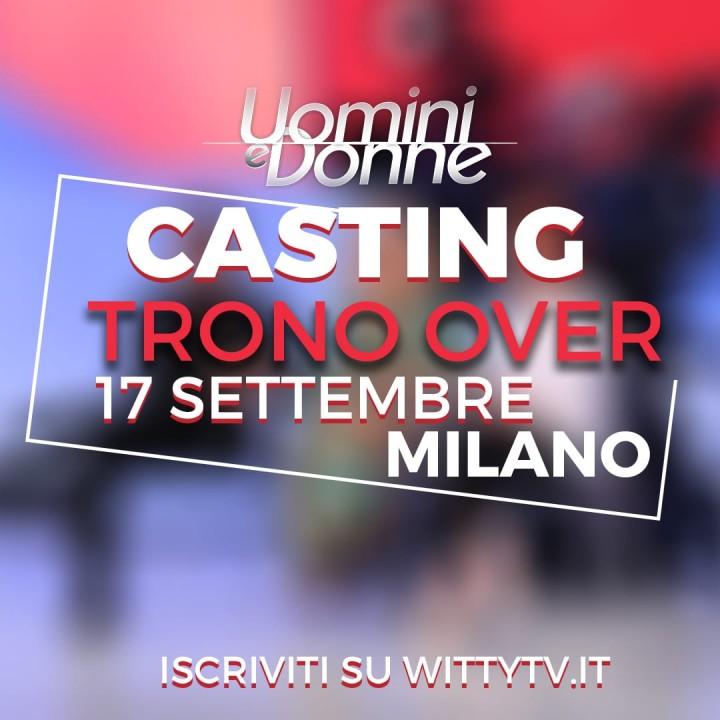 I casting del Trono Over a Milano!