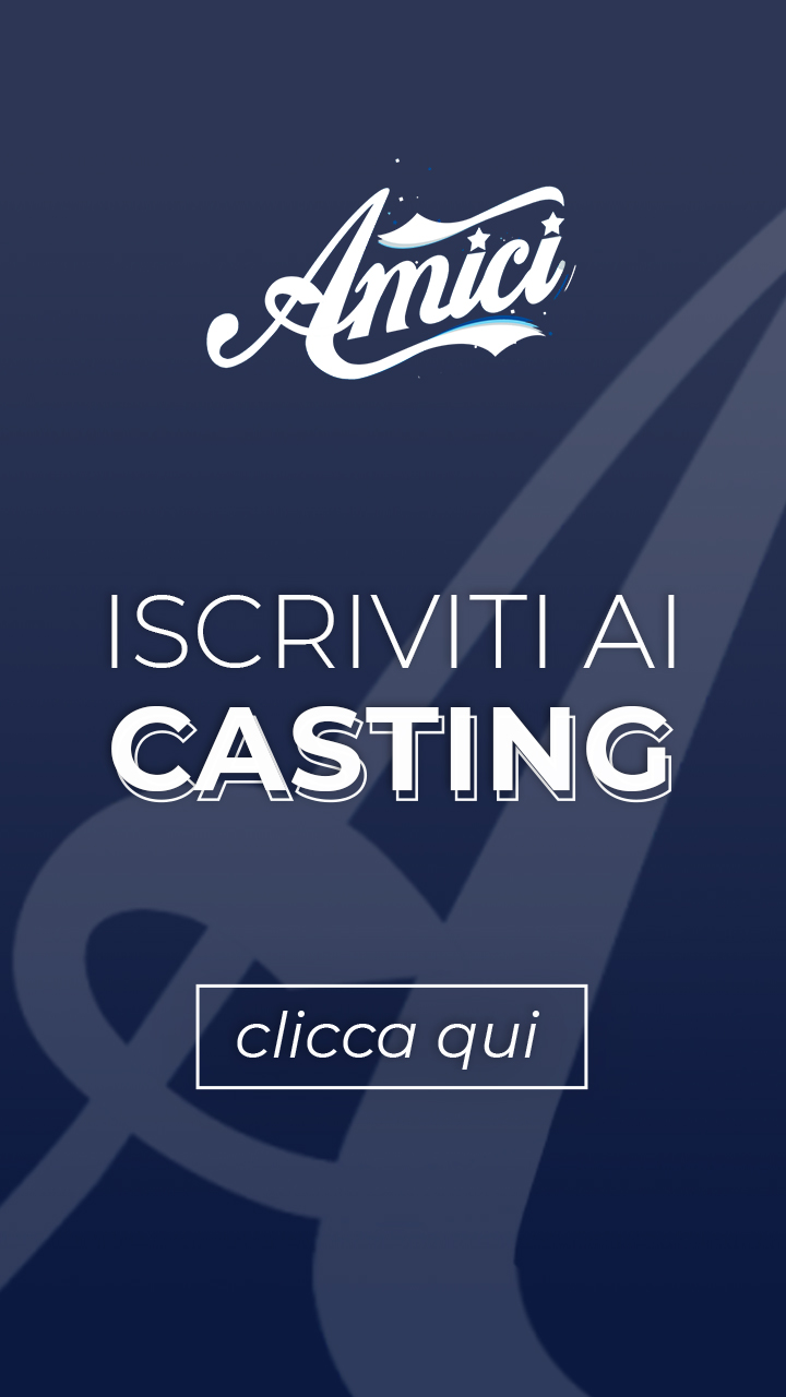 BANNER HOME MOBILE casting Amici21